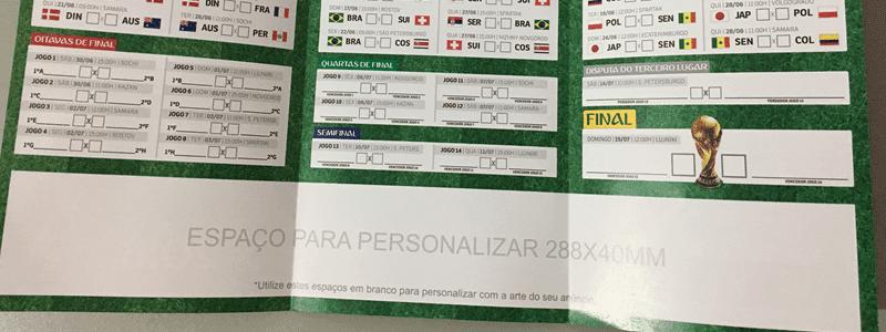 tabelinha da copa do mundo 2018 personalizada em salvador gráfica em salvador pituba avenida tancredo neves bahia impressão imprimir2